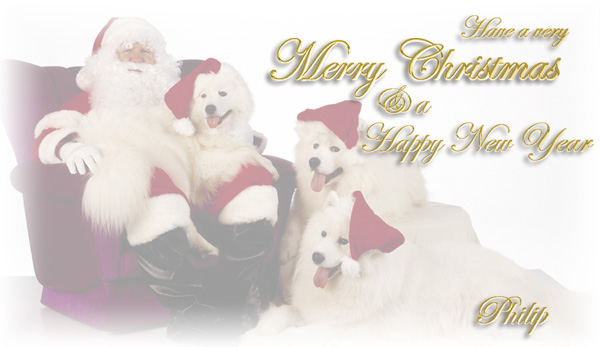 Have a very merry Christmas & a Happy New Year -- Philip